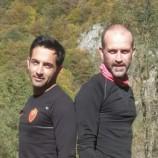 حضور دو همنورد در مسابقات دیواره نوردی