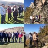 بازدید از سایت سنگنوردی چنگش روستای چهار محل