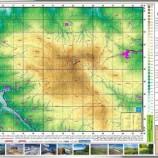 نقشه کوه سماموس چاپ شد